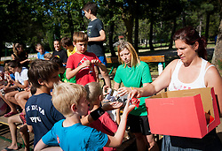 "Maja Mastnak during Handball Summer Camp named ""Rokometni tabor Urosa Zormana 2013"" on June 29, 2013 in Savudrija, Croatia. (Photo by Vid Ponikvar / Sportida.com)"