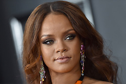 Celebrities arrive on the red carpet for the 59th Grammy Awards held at the Staples Centre in downtown Los Angeles, California. 12 Feb 2017 Pictured: Rihanna. Photo credit: Bauergriffin.com / MEGA TheMegaAgency.com +1 888 505 6342