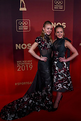 18-12-2019 NED: Sports gala NOC * NSF 2019, Amsterdam<br /> The traditional NOC NSF Sports Gala takes place in the AFAS in Amsterdam / Lieke en Sanne Wevers