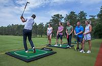 NUNSPEET - Golfclinic met pro Stein Vugts. Golf op Rijk van Nunspeet.   COPYRIGHT KOEN SUYK