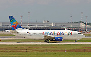 Small Planet Airlines, Boeing 737-35B