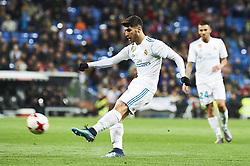 January 10, 2018 - Madrid, Madrid, Spain - Marco Asensio (midfielder; Real Madrid) during Copa del Rey match between Real Madrid and Numancia, Round 8 match, at Santiago Bernabeu on January 10, 2018 in Madrid (Credit Image: © Jack Abuin via ZUMA Wire)