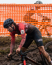 VAS Kata Blanka (HUN) during Women Under 23 race, 2020 UCI Cyclo-cross Worlds Dübendorf, Switzerland, 2 February 2020. Photo by Pim Nijland / Peloton Photos   All photos usage must carry mandatory copyright credit (Peloton Photos   Pim Nijland)