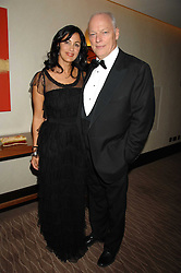 Author POLLY SAMSON and musician DAVID GILMOUR at the 2007 Costa Book Awards held at The Intercontinental Hotel, One Hamilton Place, London W1 on 22nd January 2008.<br /><br />NON EXCLUSIVE - WORLD RIGHTS (EMBARGOED FOR PUBLICATION IN UK MAGAZINES UNTIL 1 MONTH AFTER CREATE DATE AND TIME) www.donfeatures.com  +44 (0) 7092 235465