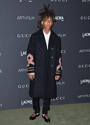 Jaden Smith attends the 2016 LACMA Art + Film Gala honoring Robert Irwin and Kathryn Bigelow presented by Gucci at LACMA on October 29, 2016 in Los Angeles, California. Photo by Lionel Hahn/AbacaUsa.com