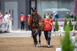 Langehanenberg Helen, GER, Annabelle 110, 137<br /> Olympic Games Tokyo 2021<br /> © Hippo Foto - Dirk Caremans<br /> 23/07/2021