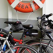 Bicycles on the Bainbridge Island ferry