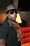 October 27, 2012-New York, NY: Recording Artist Talib Kweli backstage at House of Blues on October 27, 2012 in Atlantic City, New Jersey. Black Star arose from the underground movement of the late 1990s, which was in large part due to Rawkus Records, an independent record label stationed in New York City. They released one album, Mos Def & Talib Kweli Are Black Star on August 26, 1998. (Terrence Jennings)