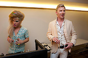 JODIE HARSH; HENRY CONWAY-PETRA ECCLESTONE Form - launch party <br /> Matches, 87 Marylebone High Street,   London. 7 September 2009.