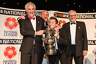 Promotion Final winners North - Chorley during the National League Gala Awards at Celtic Manor Resort, Newport, United Kingdom on 8 June 2019.