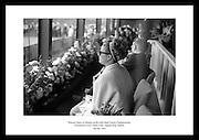 Princess Grace of Monaco at the Irish Open Tennis Championship, Fitzwilliam Lawn Tennis Club, Appian Way, Dublin.<br /> <br /> 7th July 1965<br /> <br /> 07/07/1965