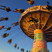 The Wave Swinger at the Montgomery County Agricultural Fair in Gaithersburg, MD