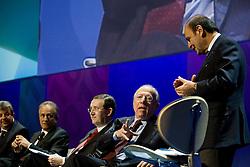"""Roma 21/01/2009 - IV Conferenza nazionale sul Digitale Terrestre dal titolo """"Niente è come prima"""". NELLA FOTO: Un momento del dibattito."""
