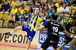Miha Zarabec of Celje during handball match between RK Celje Pivovarna Lasko and RK Gorenje Velenje in Last Round of 1. Liga NLB 2016/17, on June 2, 2017 in Arena Zlatorog, Celje, Slovenia. Photo by Vid Ponikvar / Sportida