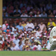 Michael Clarke is dismissed by the review system during the Australia V Pakistan 2nd Cricket Test match at the Sydney Cricket Ground, Sydney, Australia, 5 January 2010. Photo Tim Clayton