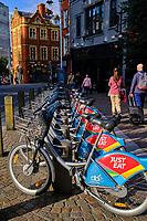 République d'Irlande, Dublin, velo en libre service // Republic of Ireland; Dublin, self-service bicycle