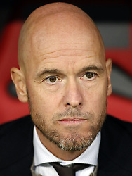 Ajax coach Erik ten Hag during the UEFA Champions League group E match between Bayern Munich and Ajax Amsterdam at the Allianz Arena on October 02, 2018 in Munich, Germany