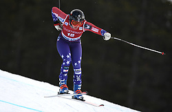 30.11.2017, Lake Louise, CAN, FIS Weltcup Ski Alpin, Lake Louise, Abfahrt, Damen, 3. Training, im Bild Jacqueline Wiles (USA) // Jacqueline Wiles of the USA in action during the 3rd practice run of ladie's Downhill of FIS Ski Alpine World Cup at the Lake Louise, Canada on 2017/11/30. EXPA Pictures © 2017, PhotoCredit: EXPA/ SM<br /> <br /> *****ATTENTION - OUT of GER*****
