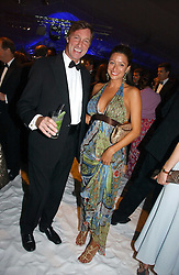 REBECCA LOOS and LORD BROCKETT at the British Red Cross London Ball held at The Room by The River, 99 Upper Ground, London SE1 on 16th November 2006.<br />