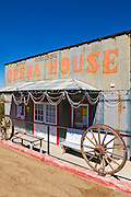 The opera house at the ghost town of Randsburg, California