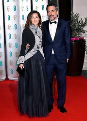 Todd Phillips and Alexandra Kravetz attending the after show party for the 73rd British Academy Film Awards.