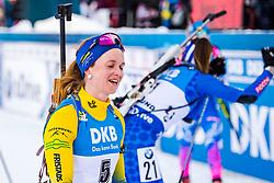 March 10, 2019 - –Stersund, Sweden - 190310 Mona Brorsson of Sweden looks dejected after the Women's 10 km Pursuit during the IBU World Championships Biathlon on March 10, 2019 in Östersund..Photo: Petter Arvidson / BILDBYRÃ…N / kod PA / 92254 (Credit Image: © Petter Arvidson/Bildbyran via ZUMA Press)
