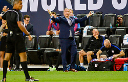September 1, 2017 - Harrison, NJ, USA - Harrison, N.J. - Friday September 01, 2017:  Bruce Arena during a 2017 FIFA World Cup Qualifying (WCQ) round match between the men's national teams of the United States (USA) and Costa Rica (CRC) at Red Bull Arena. (Credit Image: © John Dorton/ISIPhotos via ZUMA Wire)
