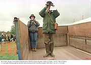 Mr. & Mrs. Roger Clutterbuck. Bedale Hunt Point to Point.Hornby Castle, N. Yorks. 19/4/97. film 97149f23<br />© Copyright Photograph by Dafydd Jones<br />66 Stockwell Park Rd. London SW9 0DA<br />Tel 0171 733 0108