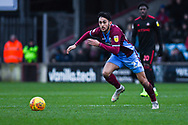 Levi Sutton of Scunthorpe United (22) in action during the EFL Sky Bet League 1 match between Scunthorpe United and Sunderland at Glanford Park, Scunthorpe, England on 19 January 2019.