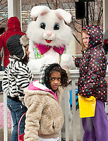 Downtown Laconia's Easter Eggstravaganza event Saturday April 23, 2011.