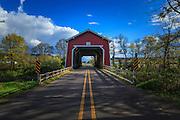 USA, Oregon, Scio, Shimanek Bridge