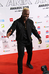 The annual Australian Record Industry Awards celebrate the best in music, held at The Star, Pyrmont, Sydney, Australia. 28 Nov 2018 Pictured: Timomatic, Tim Omaji. Photo credit: Richard Milnes / MEGA TheMegaAgency.com +1 888 505 6342