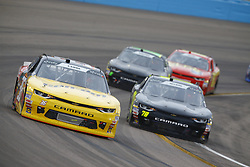 March 10, 2018 - Avondale, Arizona, United States of America - March 10, 2018 - Avondale, Arizona, USA: Alex Labbe (36) brings his car through the turns during the DC Solar 200 at ISM Raceway in Avondale, Arizona. (Credit Image: © Chris Owens Asp Inc/ASP via ZUMA Wire)