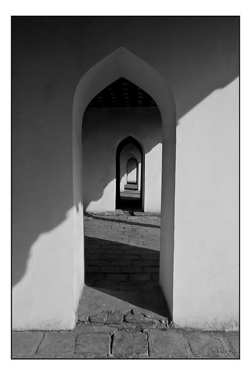 Islamic doorway to infinity