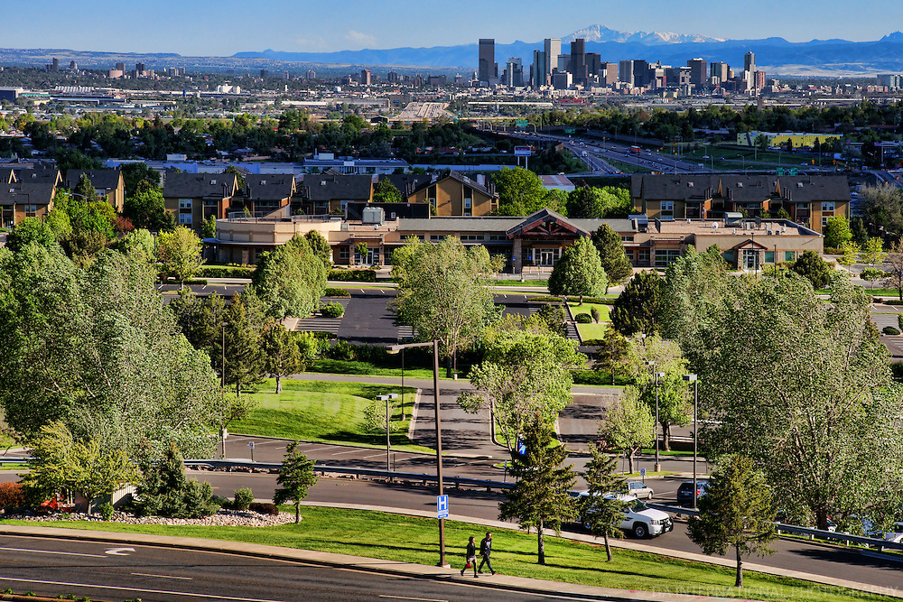 Denver Skyline from Thornton