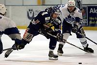 Ishockey<br /> GET Ligaen Eliteserien<br /> Furuset Forum 02.11.06<br /> Foto: Kasper Wikestad<br /> <br /> Furuset - Sparta Sarpsborg<br /> Spartas Jiri Jantovski foran Leif Thomas Eliassen