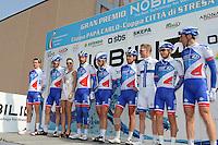 Veikkanen Jussi / Equipe  FDJ / Bonnet William  -  Fdj -   19.03.2015 - Grand Prix Nobili 2015<br />Photo : Sirotti / Icon Sport *** Local Caption ***