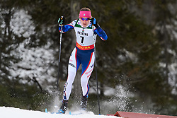November 24, 2018 - Ruka, FINLAND - 181124 Sophie Caldwell of USA competes in the women's sprint classic technique prologue during the FIS Cross-Country World Cup premiere on November 24, 2018 in Ruka  (Credit Image: © Carl Sandin/Bildbyran via ZUMA Press)