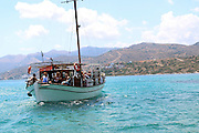 Island of Spinalonga, Greece a fortress and leper colony