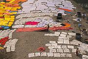 Laundry day<br /> Yamuna River<br /> Agra<br /> Uttar Pradesh,  India