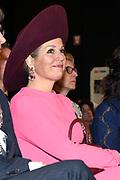 Koningin Maxima is in de Rijtuigenloods in Amersfoort om het 10-jarig jubileum van de stichting Het Begint met Taal bij te wonen  ////  Queen Maxima is in the Rijtuigenloods in Amersfoort to attend the 10-year jubilee of the foundation Het Begint met Taal