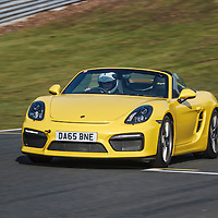 Porsche 718 Boxster (2015) at Oulton Park RS Track Day, March 2016