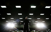 U.S. Democratic presidential nominee John Kerry delivers a speech in Orlando, Florida, October 29, 2004.  There is less than one week remaining in the 2004 presidential election between Kerry and President George W. Bush.  REUTERS/Jim Young