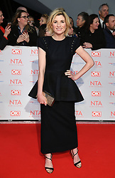 Jodie Whittaker attending the National Television Awards 2018 held at the O2, London. Photo credit should read: Doug Peters/EMPICS Entertainment