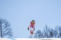 February 15, 2018 - Jeongseon, Gangwon, South Korea - Max Franz of Austria competing in mens downhill at Jeongseon Alpine Centre at Jeongseon , South Korea on February 15, 2018. (Credit Image: © Ulrik Pedersen/NurPhoto via ZUMA Press)