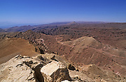 Wadi Gishron in the EIlat Mountains, Arava, Israel