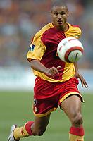 Fotball<br /> Frankrike 2004/05<br /> Lens v Saint Etienne<br /> 14. august 2004<br /> Foto: Digitalsport<br /> NORWAY ONLY<br /> DANIEL COUSIN (LENS)