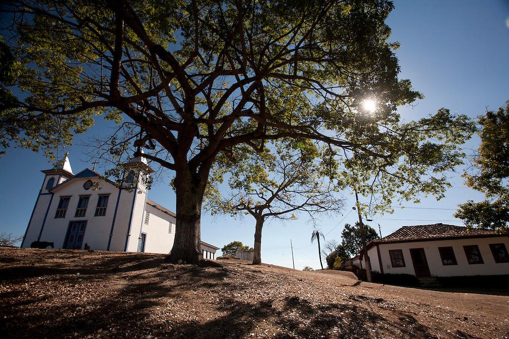 Serro_MG, Brasil...Igreja Matriz de Sao Goncalo do Rio das Pedras, construida em e 1787 no Serro, Minas Gerais...The Mother church Sao Goncalo do Rio das Pedras, built in 1787 in Serro, Minas Gerais...Foto: LEO DRUMOND / NITRO