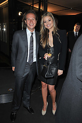 DAVE CLARK and HOLLY VALANCE at the launch of One Hyde Park, The Residences at Mandarin Oriental, Knightsbridge, London on 19th January 2011.