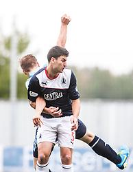 Falkirk's Jonathan Flynn.<br /> Falkirk 3 v 1 Dundee, 21/9/2013.<br /> ©Michael Schofield.